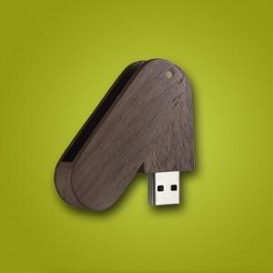 فلش مموری چوبی