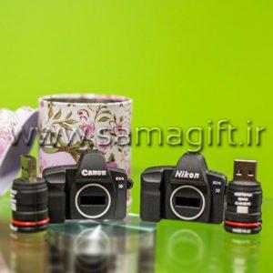 فلش مموری طرح دوربین Canon و Nikon